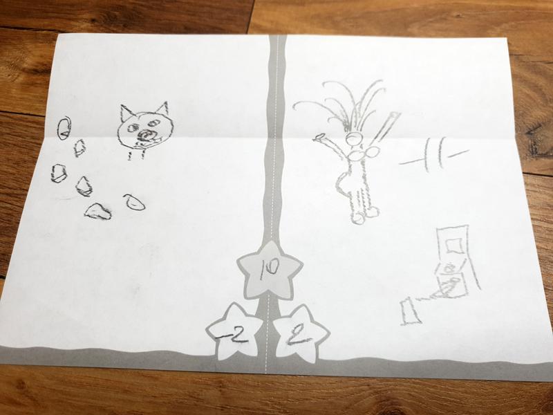 Примеры рисунков из игры