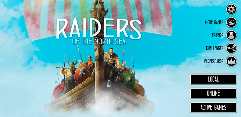 Raiders of the North Sea в цифре