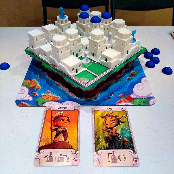 Санторини настольная игра